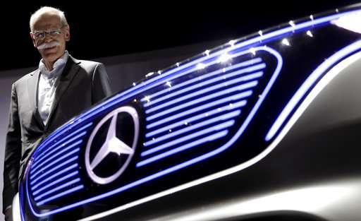 Daimler investing $20 billion into battery cells.
