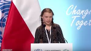 15 year old castigates world leaders on climate change inaction